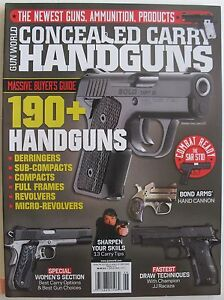 190 handguns 2013 concealed carry handguns massive buyers guide men rh ebay com Central Wisconsin Buyer's Guide Real Estate Buyers Guide