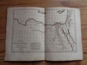 Carte Chypre Crete.Details Sur Carte De L Egypte Ancienne Par Bonne Carte 1780 Syrie Chypre Crete Palestine