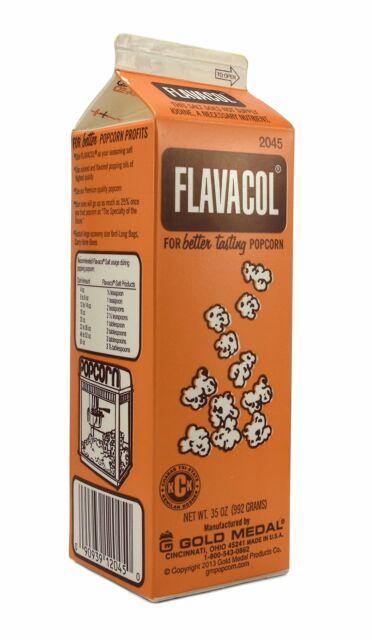 Gold Medal Prod. Flavacol Seasoning Popcorn Salt 35oz.
