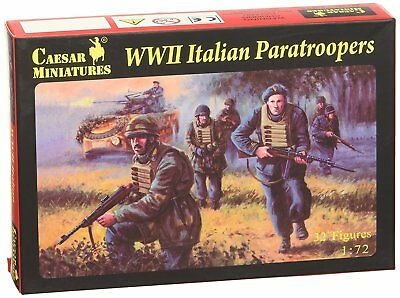 Caesar Miniatures H075 - Wwii Italian Paratroopers - 1:72 Factory Direct Selling Prijs