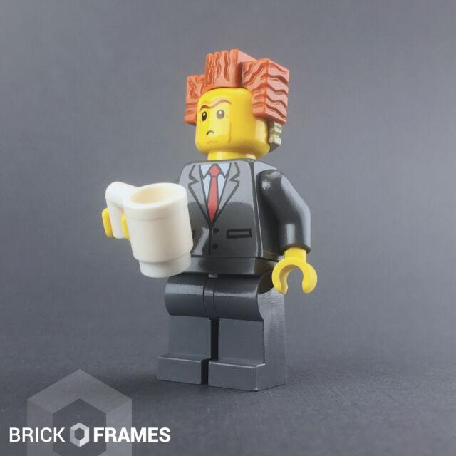 Lego President Business 70818 Smiling Raised Eyebrows The LEGO Movie Minifigure