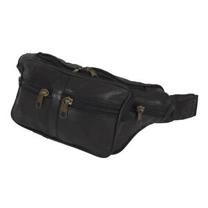 Image Is Loading Leather Bag Money Belt Multi Zip Festival