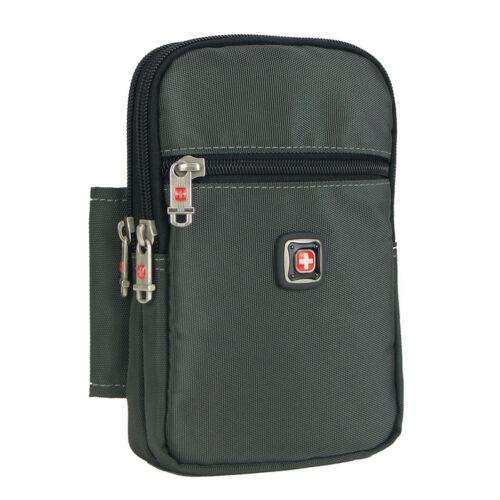 """XXXL Men women fanny pack waist bag outdoor travel mega 6.3/"""" cellphone case"""