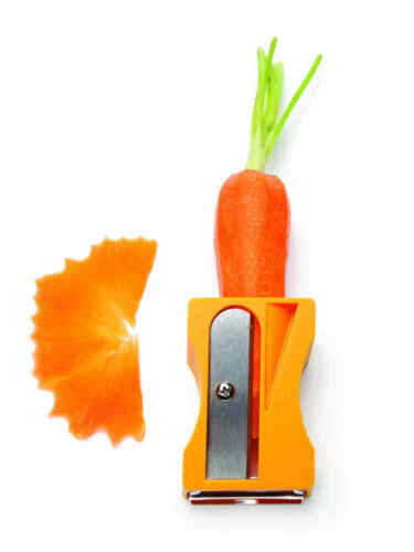 Monkey Business Karoto 2in1 légumes éplucheur Nouveau//Neuf dans sa boîte DECO éplucheur sparschäfer