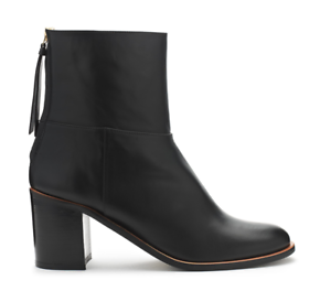 Zip New Box 4 Boot £185 Black Whistles Back Size Leather In Grace 4UHYqwE