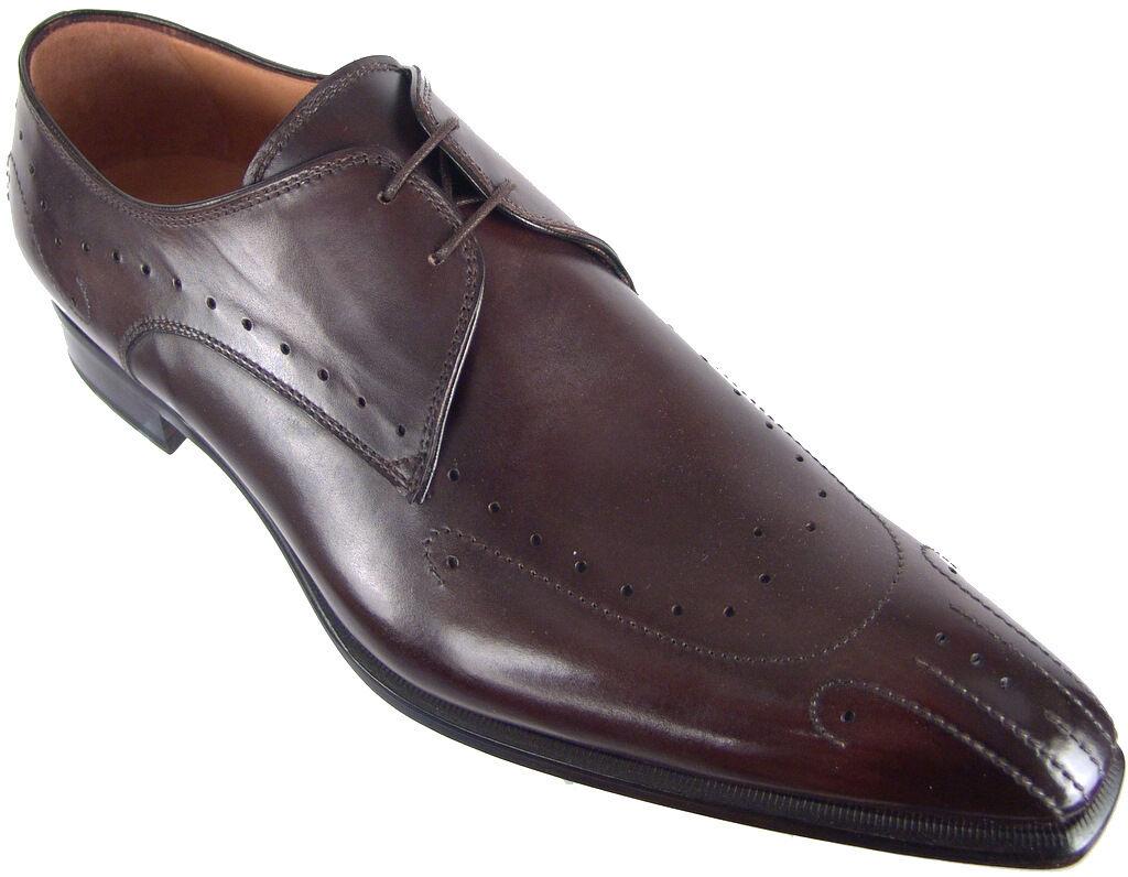 FRANCESCO BENIGNO main Lustré Derbies Uk 8 Design italien homme chaussures