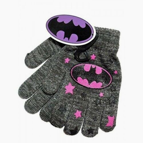 Girl/'s Child/'s Knit Gloves Wonder Woman Batgirl Captain America Ever After NWT