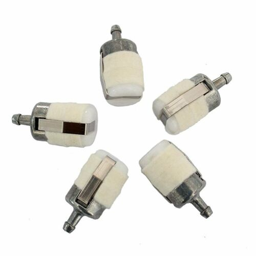 5 x Gas Fuel Filter For Homelite Echo Husqvarna Stihl Pouland Chainsaws