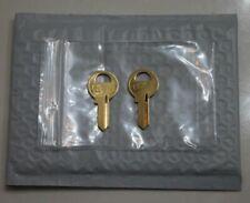 PRM550 set of 2 replacement keys cut to your Bauer T-Handle key code PRM501