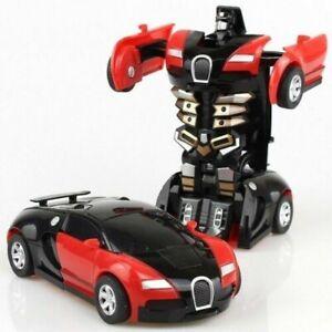 Robot Voiture Transformers Kids Toys Jouet Véhicule Cool Jouet Pour Garçons Cadeau De Noël