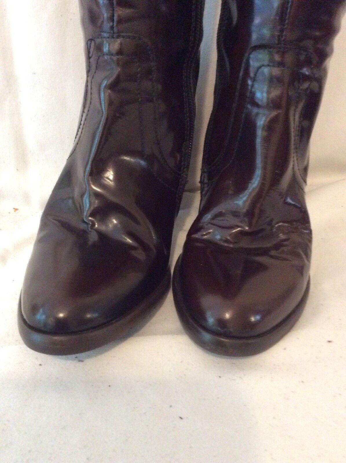 TT Bagatt Stiefel Braun Knee High Leder Stiefel Bagatt Größe 38 ed8ef4