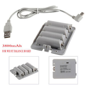 New-3800mAh-High-Capacity-Rechargeable-Battery-Pack-for-Wii-Fit-Balance-Board