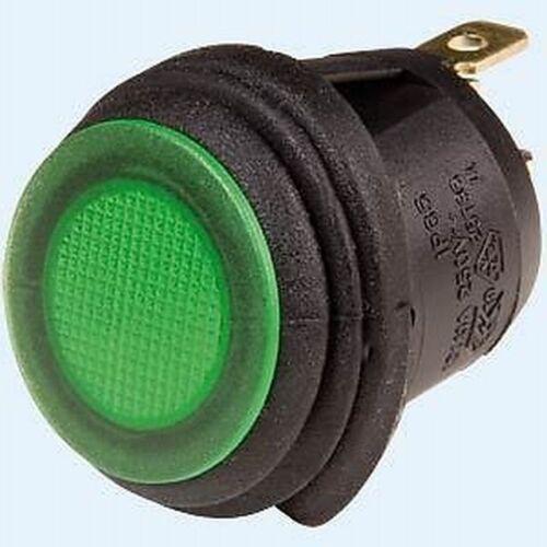 MOTO COCHE QUAD adicional faros vaivén interruptor 12v impermeable verde ip65