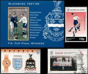 BLACKBURN-ROVERS-FA-CUP-Winners-1928-Football-Stamps