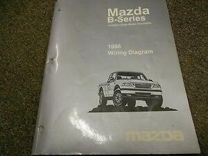 1998 Mazda B-Series Truck Electrical Wiring Diagram ...