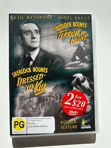 Sherlock-Holmes-Terror-By-Night-Dressed-To-Kill-DVD-Basil-Rathbone-Like-New