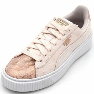 42e62b71b83996 PUMA WOMAN SNEAKER SHOES CASUAL FREE TIME 366494 BASKET PLATFORM ...