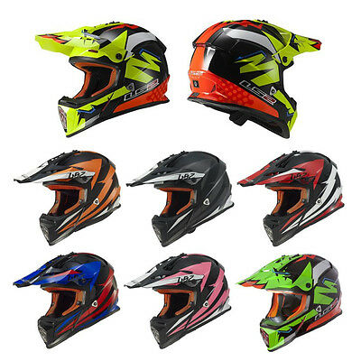 *FAST FREE SHIPPING* LS2 OHM Adventure Off Road Dirt Motorcycle Helmet