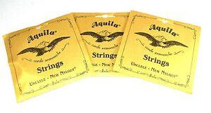 Aquila-Ukulele-Strings-3-Pack-Concert-Regular-Nylgut-Made-in-Italy