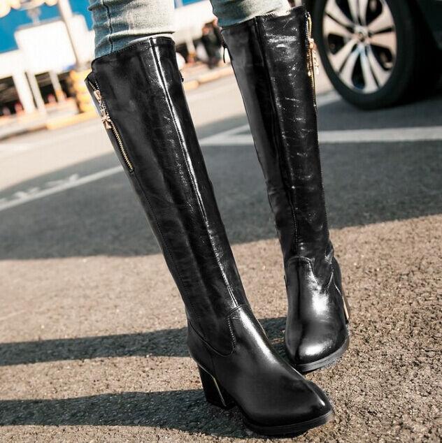 Bottines bottes chaussures rangers femme talon 6 cm comme cuir confortable noir
