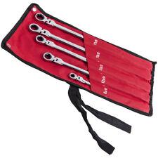 Double Box End Ratcheting Wrench Metric Universal Spline Flexible Head E Torx