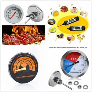 50-500-C-Cooking-BBQ-Thermometer-Kitchen-Oven-Probe-Temperature-Gauge-TW