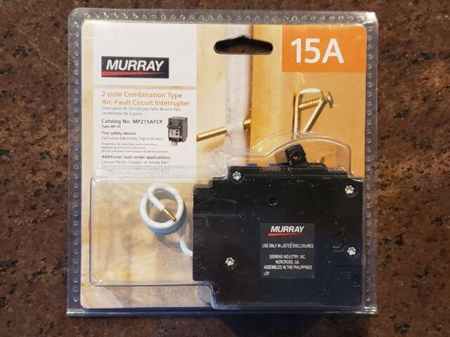 Murray 15 Amp Double  2  Pole Combination Afci Circuit