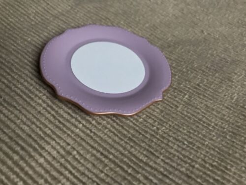 "American Girl Blaire farmhouse restaurant fancy dinner plate purple 18/"" doll NEW"
