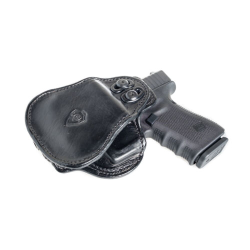 PADDLE HOLSTER FOR WALTHER P99 OWB LEATHER PADDLE WITH ADJUSTABLE CANT.