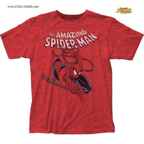 The Amazing Spider-Man T-Shirt Marvel Comics,Slingmaster Spidey Comic Book Tee
