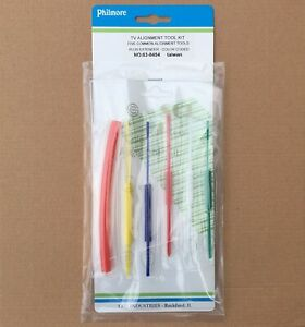 NEW-Philmore-6-pc-Universal-TV-Radio-Alignment-Trimmer-Tool-Set-With-Extender
