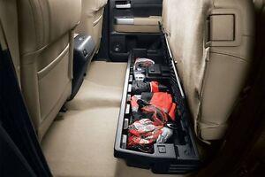 Toyota Tundra Double Cab Under Seat Storage Organizer