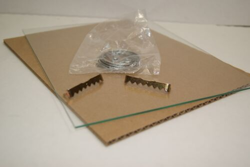 Cosmetologist Spa Board License Frame Holds 3.5x8.5 w// Glass Stand and Hanger