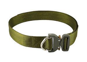UKOM-Optimum-ANSI-D-Ring-Green-Riggers-Belt-45mm-1-75-034-Austrialpin-Cobra-Buckle