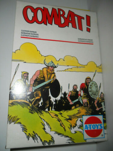 STRISCIA 6 COWBOY-SERIE COMPLETA-SOLDATINI CROMOPLASTO LANDI/'S TOY SOLDIERS