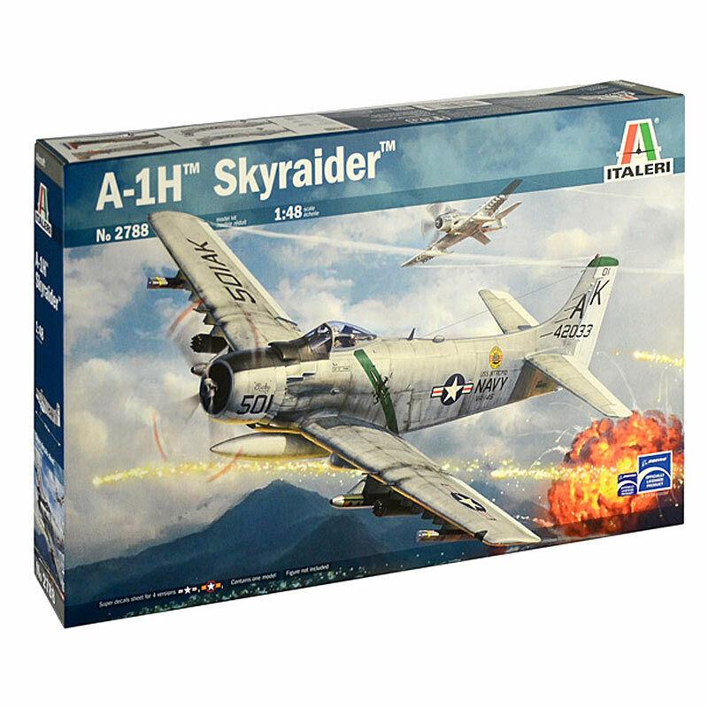 ITALERI 2788 A01H Skyraider 1 48 Aircraft Model Kit