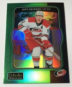 Jeff-Skinner-49-OPC-Platinum-Retro-Green-Rainbow-Insert-Parallel-Hockey-Card