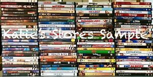 DVD Movie Lot 100 Wholesale! Great For Christmas Gifts! A-list ...