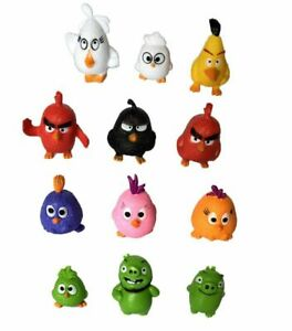 Angry-Birds-Movie-11-figures-Set-Red-Chuck-Bomb-Matilda-Leonard-Ross-minifigures