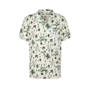 Levi's Cubano Relaxed Shirt Camicia Uomo 72625 0028 Nephrite Olive Night