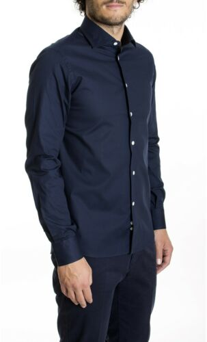 Camicia Unita B029210 Brancaccio ai15 Tinta blu v6rqgwvp