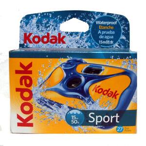 Kodak Sport Wasserdicht Einzel Verwendung Einweg Kamera Datiert 09/2019