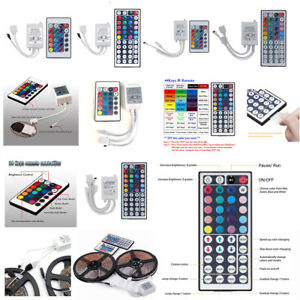24-44-Key-IR-Remote-Controller-DETECTIVE-COMICS-12V-per-RGB-LED-3528-5050-SMD-STRIP-LUCI-US