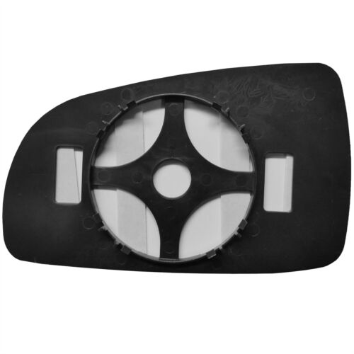 Right Driver side wing mirror glass for Chevrolet Aveo 2008-2011 wide angle
