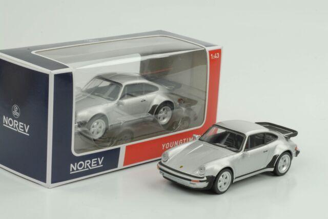 Porsche 911 930 Turbo 1978 Jet Car Silver 1:43 Norev Diecast