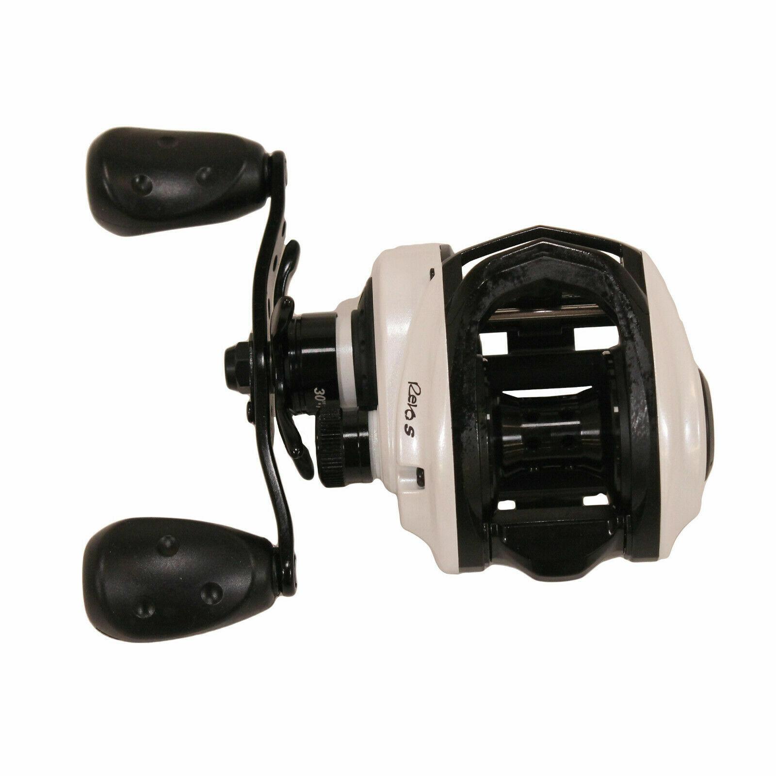 Abu Garcia Revo SX Low Profile Fishing Reel with 7.3:1 Gear Ratio Revo4 SX-HS-L