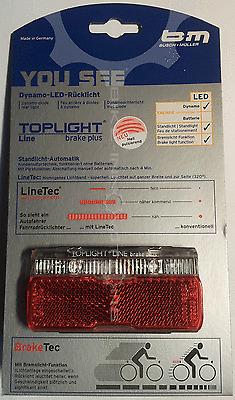 Busch & Müller TOPLIGHT Line Brake Plus LED Gepäckträger-Rücklicht 50 mm StVZO