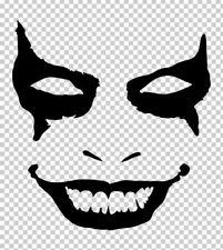 Vinyl Decal Dc Batman Joker Face Pick Size Amp Color Car Truck Fits Sticker