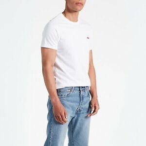 LEVI'S® T-shirt SS ORIGINAL HM TEE COTTON + PATCH WHITE 56605-0000