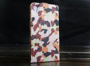 Urcover-sony-xperia-z2-Camouflage-Optique-Housse-De-Protection-Case-Cover-Etui-a-rabat-Wallet
